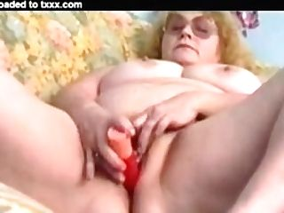 Retro Blonde Granny #1