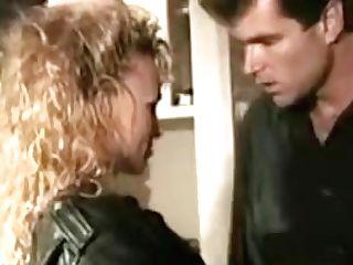 Lewd Blonde Chick Rails Man Rod At Kitchen