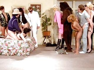 Let's Relish A Very Big Retro Pornography Orgy Hook-up Movie!