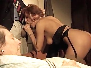 Fabulous Homemade Hotwife, Antique Hook-up Movie