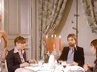 Brigitte Lahaie Scene Trio In La Maison Des Phantasmes (1978)