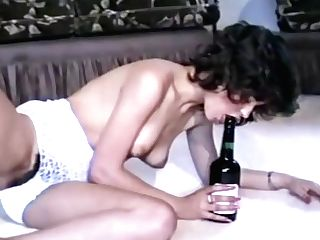 80s Promiscuous Chicks In Hot Retro Undergarments Are Excitingly Masturbating Hairy Pusses