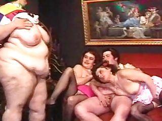 Fat Moms German Family Antique