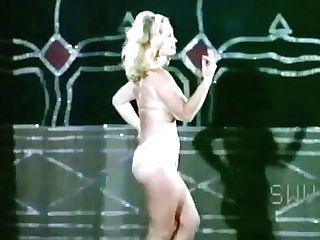 Virginia Bell Performs In  Six Burlesque Dances